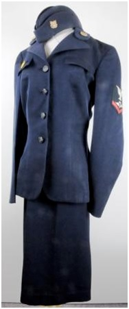 World War II era SPAR uniform