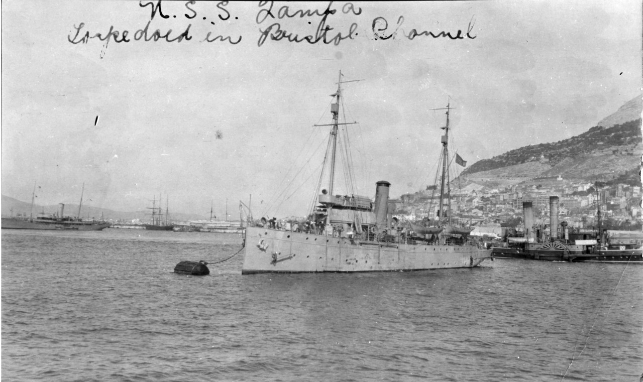 USCGC Tampa in Gibraltar