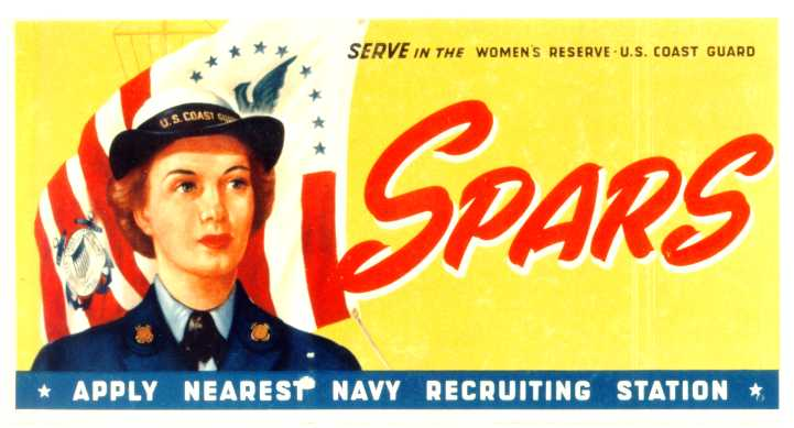 SPAR recruiting poster in color.
