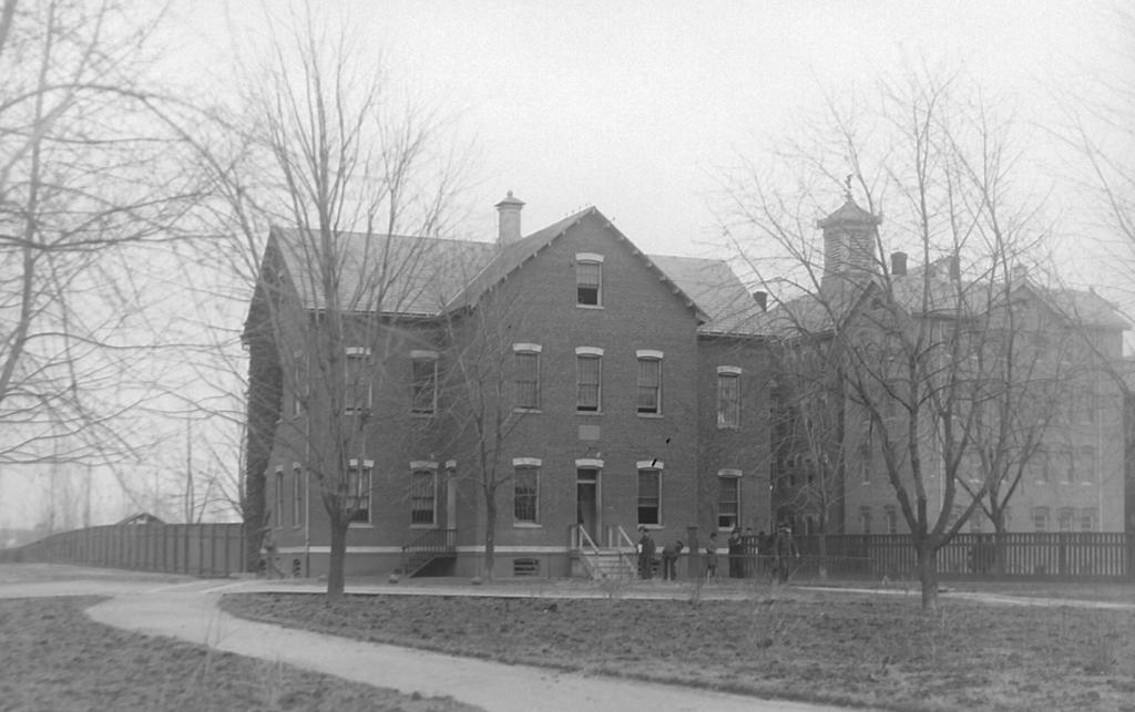 Atkins Hall circa 1896